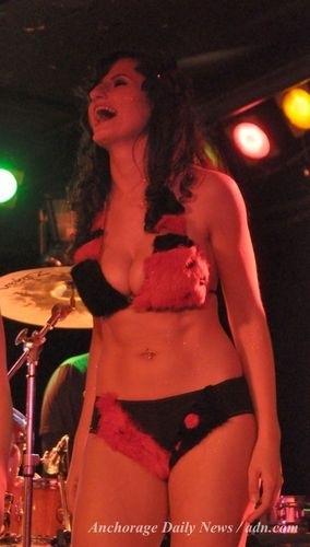 That fur bikini contest she loves